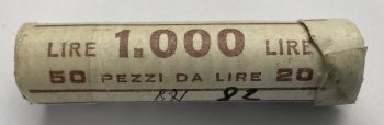 Rep.Italiana 20 lire 1982