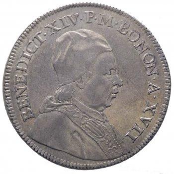Benedetto XIV (1740-1758) Scudo da ...