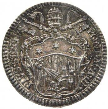 Pio VI (1775-1799) Grosso 1777 ...