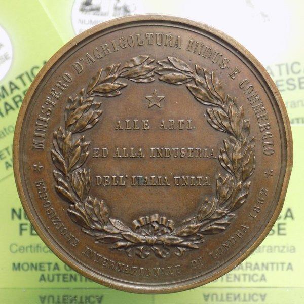MEDAGLIA - Vittorio Emanuele II ...