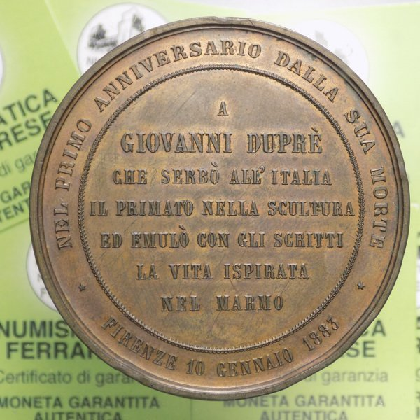 MEDAGLIA - Giovanni Duprè ...