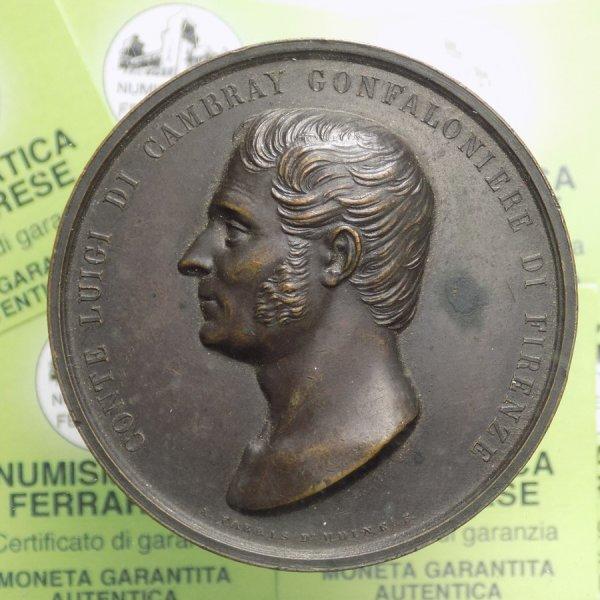 MEDAGLIA - Firenze - Conte Luigi ...