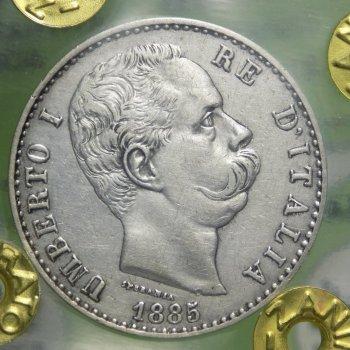 Umberto I (1878-1900) 2 Lire 1885 ...