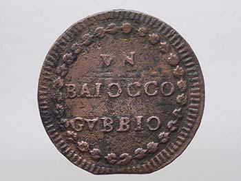Gubbio - Pio VI (1775-1799) 1 Un ...
