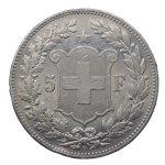 Svizzera - 5 Franchi ...